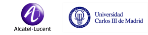 Logo Alcatel Lucent y UC3M para CIES